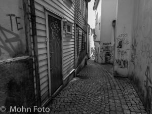 Narrow Alley in Marken Bergen