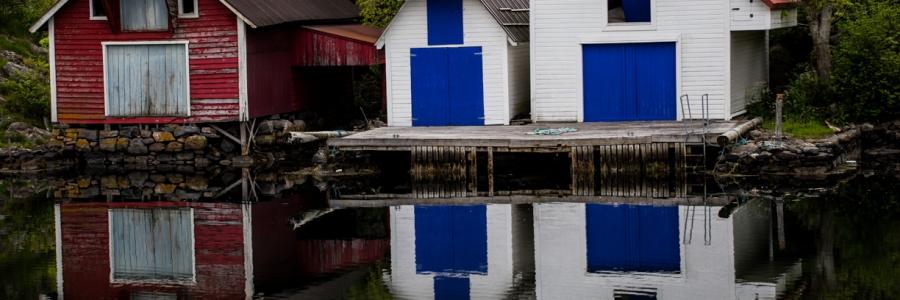 ReflectionBoatHouse