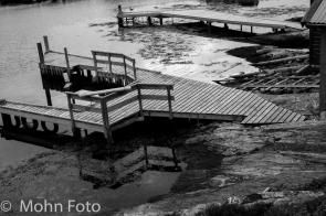 Docks B&W