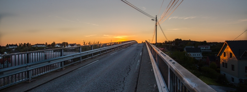 Bridge Øygarden Norway