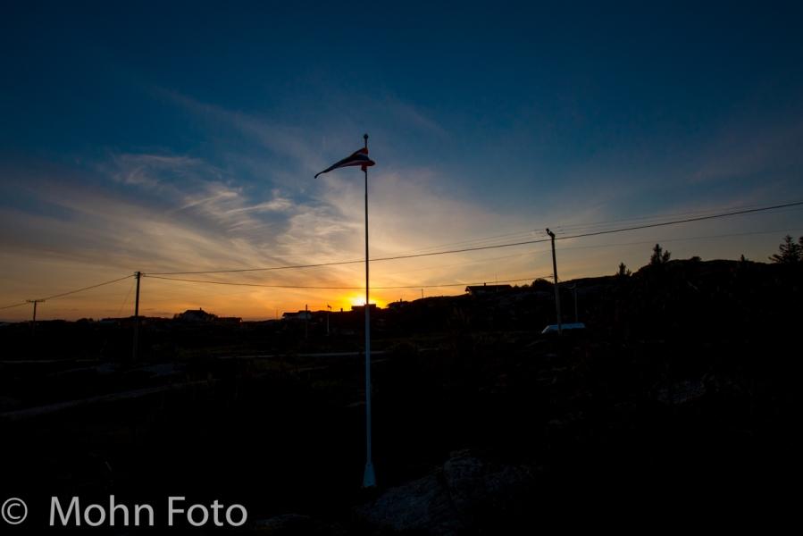 Sunset Øygarden Sotra