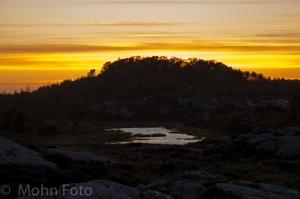 Sunset Turøy Øygarden