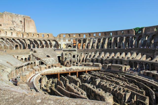 Colosseum Rome Italy(inside)