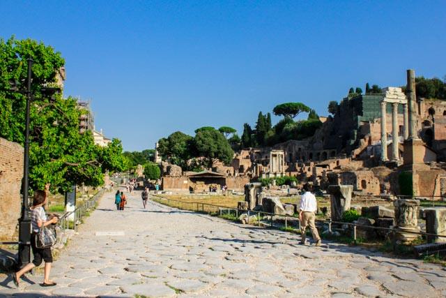 Ancient Rome City Ruins