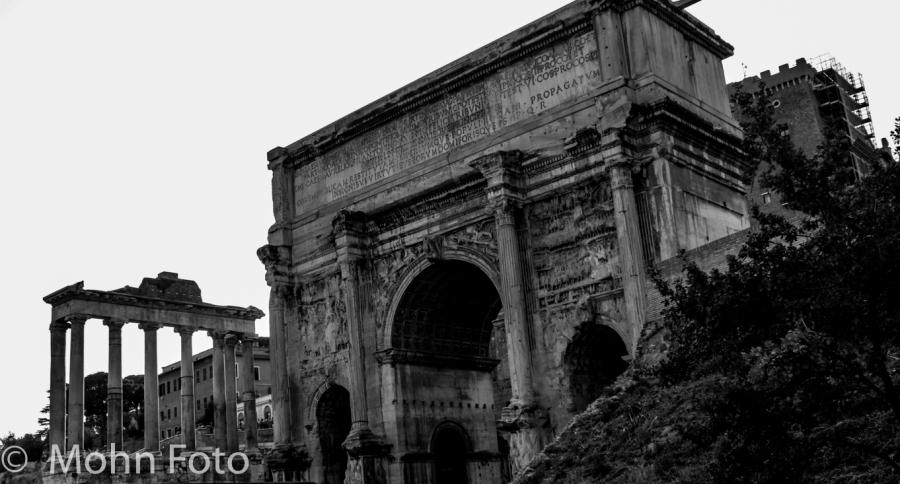 Ancient Rome B&W