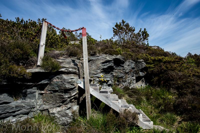 Steps at Ormhilleren