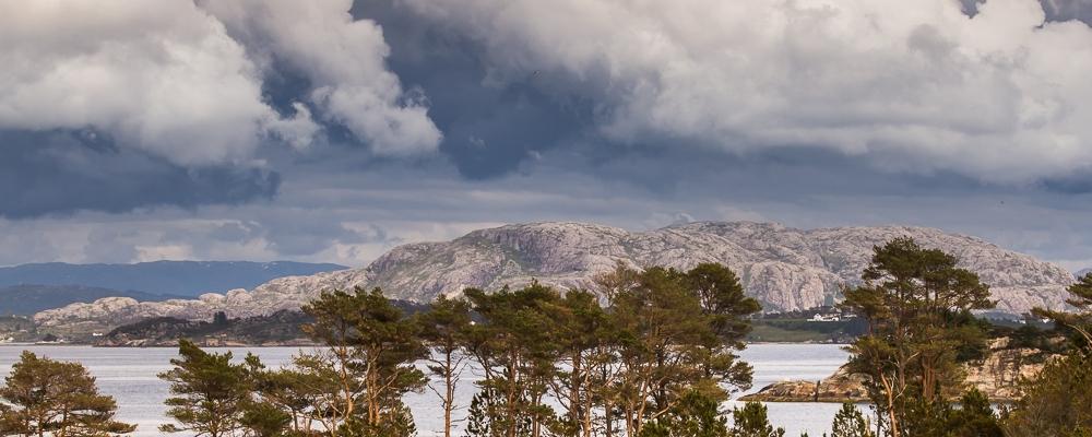 View from Øygarden Oen