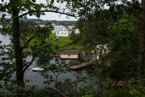 Bilde av ett hus med strandlinje