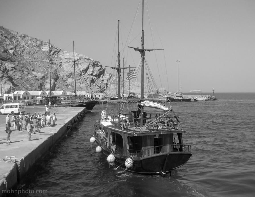 Greece Naxos Ship