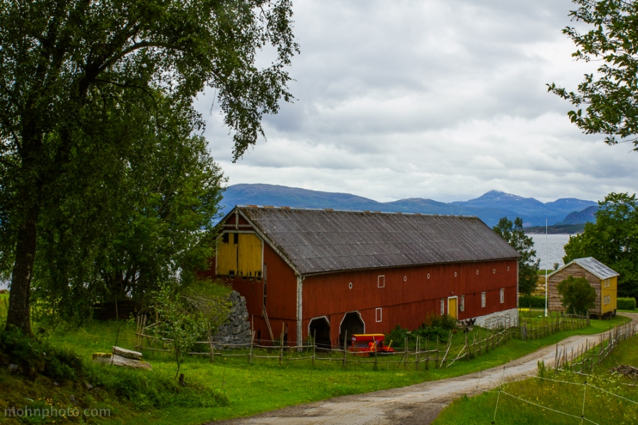 Barn taken in Norway