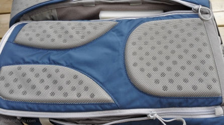 Lowepro Flipside 15L improved air flow for back