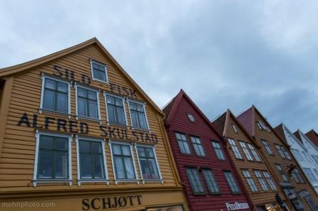 Bergen Bryggen Nært