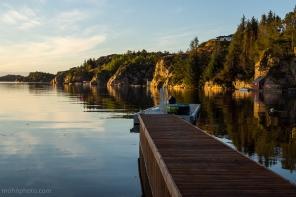 Reflection of Angelvik