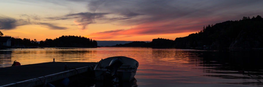 Foldnes Sunset Straume