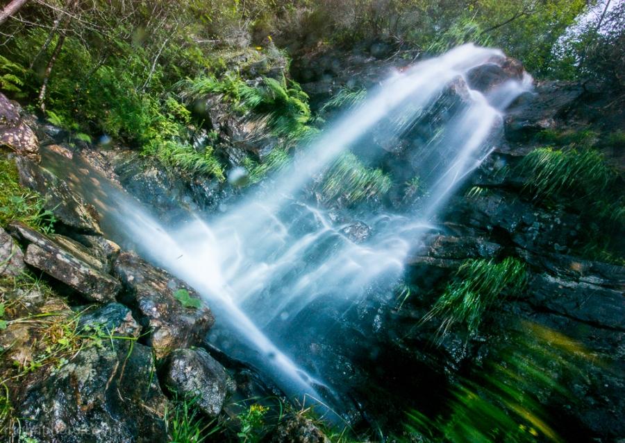 long exposure water fall / lang lukkertid foss