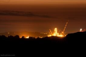 Offshore Drilling Rigg Natt