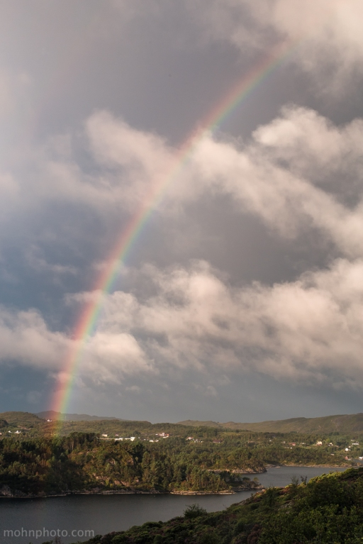 Rainbow over Straume