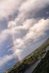 Rainbow over Sotra