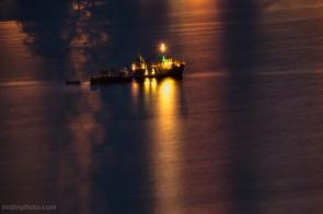 Sotra Kyst Båt Natt