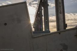 Concrete Blocks in Sunlight