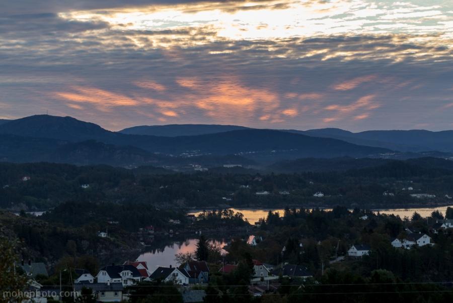 Todays Sunrise Sotra Norway