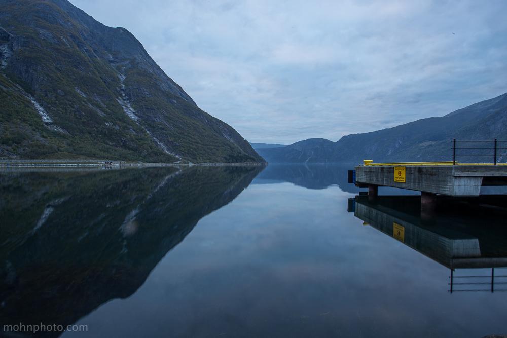 Eidfjord Docks Norway