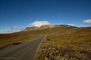 Road to Hallingskarvet