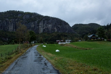 Farm near Mountain