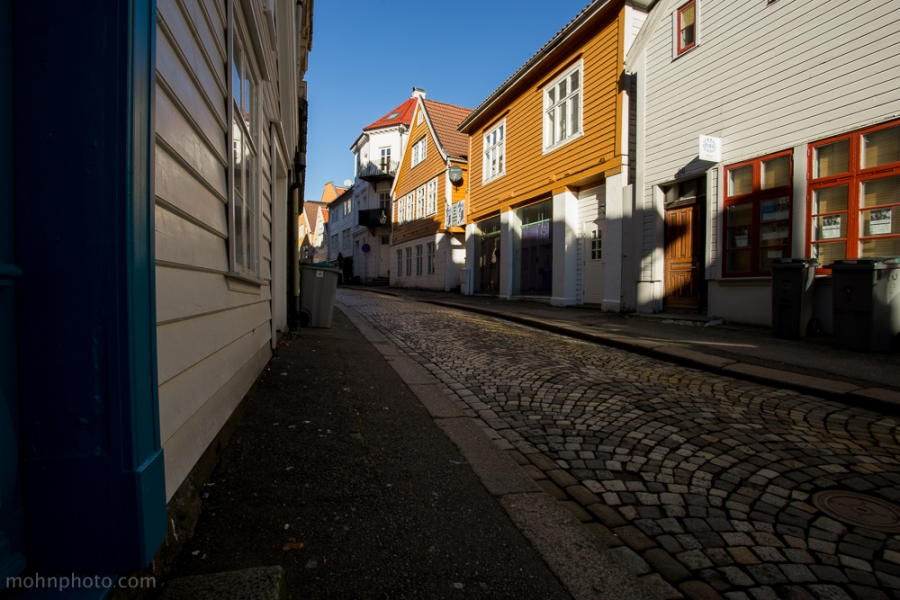 One of Bergens cute streets