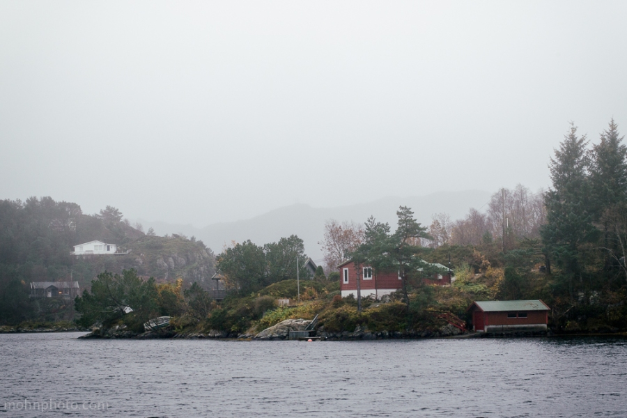 Fog at Sotra Norway