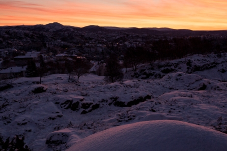 Snow&Sunrise